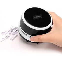 BXT Aspirador portátil para mesa de hogar, cocina, mini migas al vacío, para coche, oficina, ordenador, escritorio, removedor de polvo