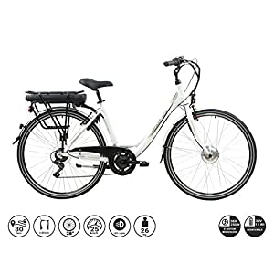 41byWrIK1iL. SS300 F.lli Schiano E-Moon bici elettrica bianca