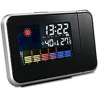 Unbekannt PER Digital Wecker mit Projektor Thermometer Hygrometer für Schlafzimmer, Küche preisvergleich bei billige-tabletten.eu
