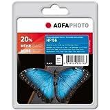 AgfaPhoto Tinte für HP C6656AE schwarz