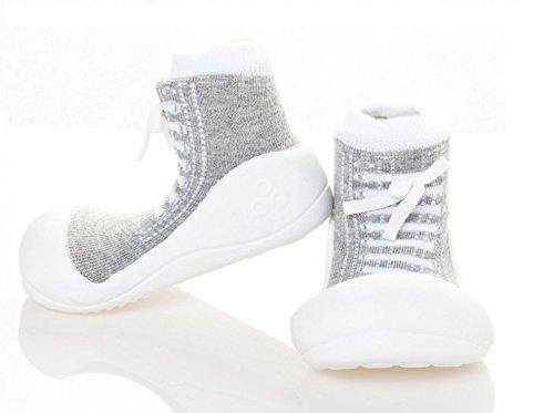 Attipas , {Chaussures premiers pas pour bébé (garçon) Multicolore Multicolore 21.5 gris