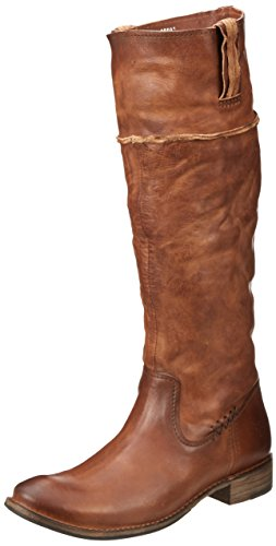 Frye Shirley Artisan Tall Rund Leder Mode-Knie hoch Stiefel Whiskey