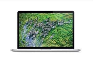 """Apple 15"""" Retina Ordinateur Portable 15.4 """" NVIDIA GeForce GT 650M Mac OS X 10.8 Mountain Lion Argent - Clavier QWERTY Anglais"""