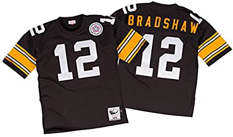 Terry Bradshaw Pittsburgh Steelers Mitchell & Ness Authentic 1975 NFL Jersey Maillot