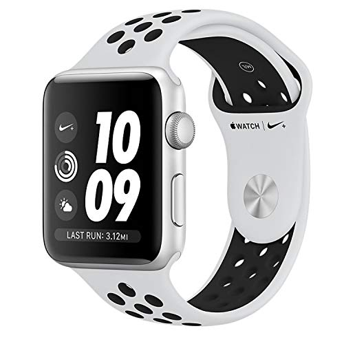 Apple Watch Nike+ OLED GPS (satellitare) Argento smartwatch