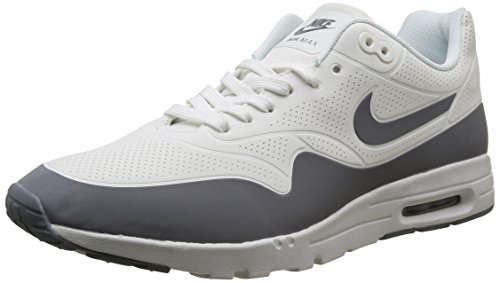 Nike Damen Wmns Air Max 1 Ultra Moire Turnschuhe, Blanco (Smmt Wht/CL Gry-Mtllc Slvr-Whi), 39