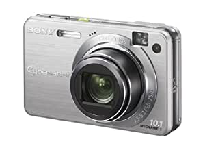 "Sony CyberShot W170 Digital Camera - Silver (10.1MP, 5x Optical Zoom) 2.7"" LCD"