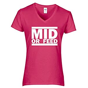 League of Legends – Mid or Feed Girlie Shirt