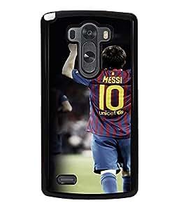 Printvisa Footballer In Action Back Case Cover for LG G3::LG G3 D855