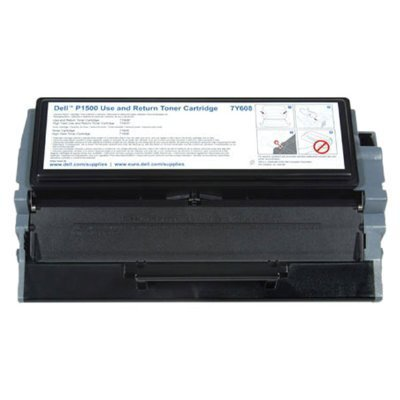 Dell 7Y610 OEM Toner - P1500 High Yield Use and Return Toner (OEM# 310-3545) (6000 Yield) by Dell