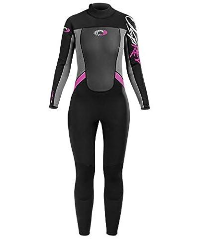Osprey Girl's Origin 3/2 Mm Summer Wetsuit - Pink, Medium/Size 30