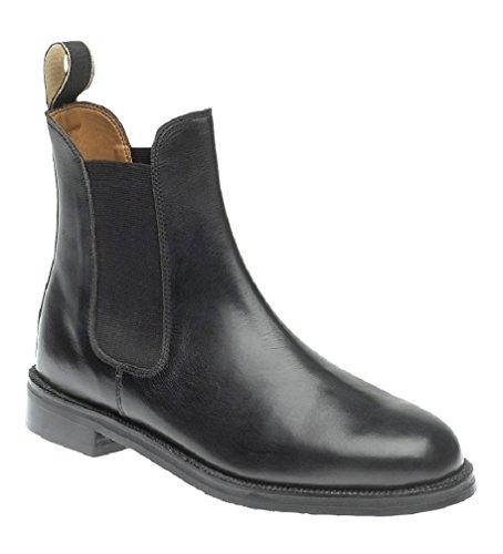 Cissbury - Mocasines para hombre, color negro, talla UK Mens Size 9