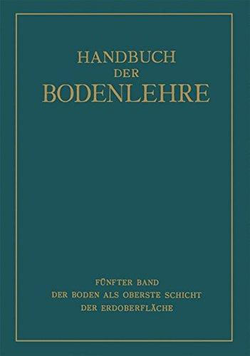 Der Boden als Oberste Schicht der Erdoberfläche (German Edition)