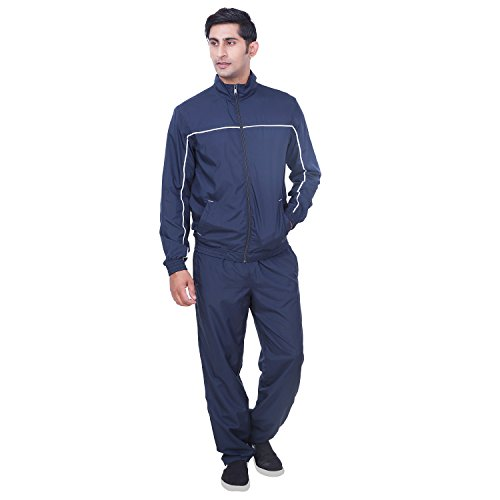 Puma Navy Polyester Tracksuit For Men For Gym. Yoga Jogging & Casual Wear