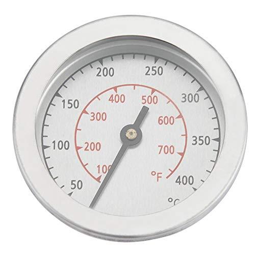 BBQ Thermometer, 100~700 ? Doppelskala BBQ Grill Thermometer Metall Temperaturanzeige Analog Dial, genau misst für Grill, BBQ oder Ofen