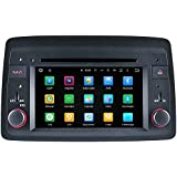 TOPNAVI Android 8.0 Auto Stereo para Fiat Panda 2004 2005 2006 2007 2008 2009 2010 Radio