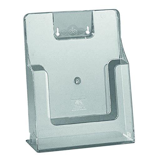 Prospektständer A4 transparent | freistehend | Plexiglas