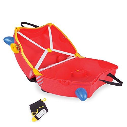 Trunki Koffer für Kinder Freddie Fire Engine - 4