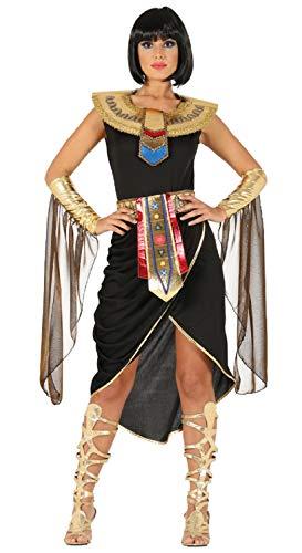 Fancy Me Damen Schwarz Gold Ägyptische Göttin Königin -