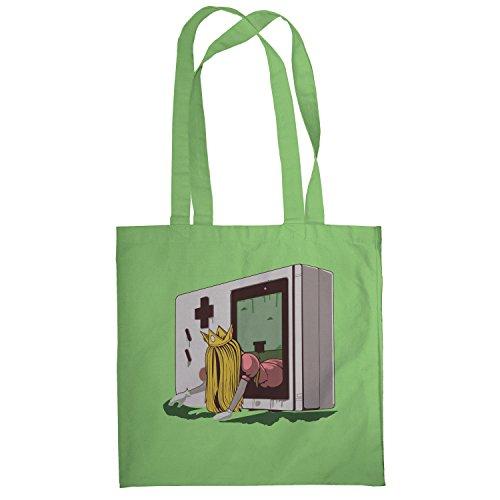 Texlab–The Princess–sacchetto di stoffa Verde chiaro