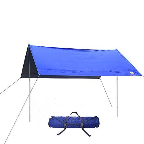 tragbares leichtes wasserdichtes tarpzelt shelter. Black Bedroom Furniture Sets. Home Design Ideas