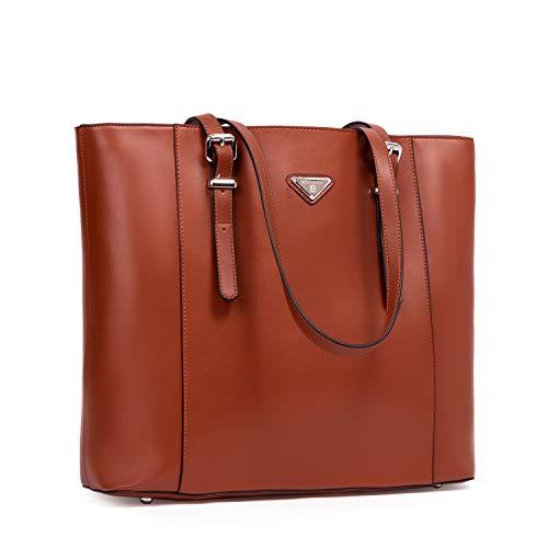 BOSTANTEN Damen Leder Handtaschen Schultertasche Frauen Umhängetasche Businesstaschen 14 16