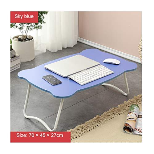 Einfacher Computertisch Klappbett mit kleinem Schreibtisch Fauler