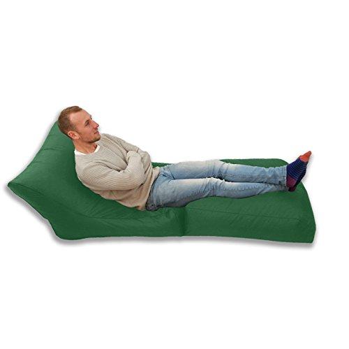 Großer XXXL-Sitzsack/Gamingbett und -sessel mit Bohnenfüllung für drinnen und draußen,...