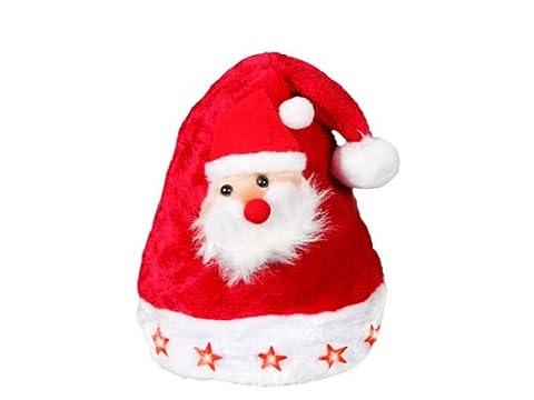 Bébé Père Noël Chapeaux - Bonnet de Noël pour enfant wm-46 lumineux