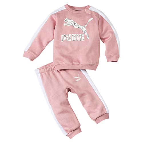 PUMA Kinder Minicats T7 Crew FL Trainingsanzug, Bridal Rose, 80