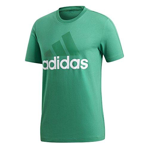 adidas Essentials Linear T-Shirt Herren, Bgreen, S (Bgreen-bekleidung)