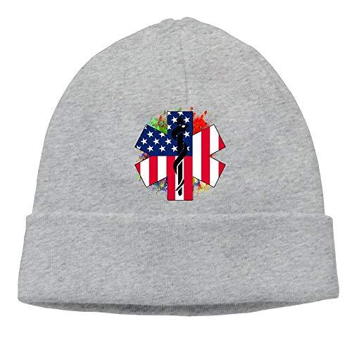 Ente Kostüm Baby Beanie - Bikofhd EMS USA Paramedic Unisex Fashion Beanie Knit Hat Cap ColorKey Multicolor29