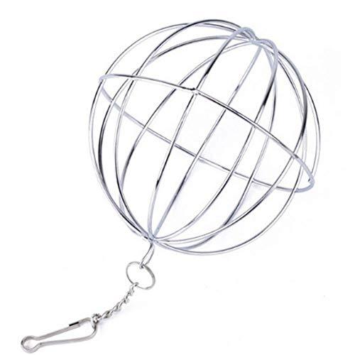 ZDJR Hay Hanging Ball Feeder, Sphere Treat Hay Dispenser Spielzeug für Kaninchen Chinchilla Guinea Pig Kleintiere