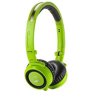 AKG Q460 Signature Edition Quincy Jones High Performance Foldable Mini Headphones - Green