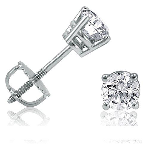 itär Diamant Ohrstecker 0,5 Karat. Top Qualität aus der Manufaktur. ()
