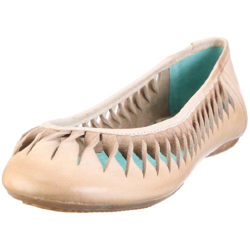 xyxyx Ballerina XY0329 Damen Ballerinas Beige/tecno & U-58