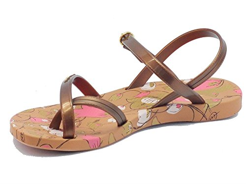 Infradito per donna Ipanema modello sandalo in caucciù bronzo Brown/Bronze