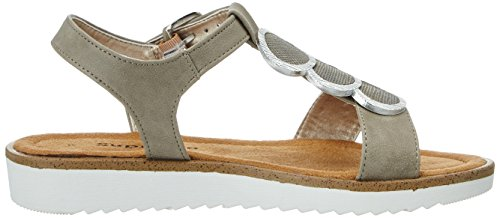 Supremo 2720901, Sandales  Bout ouvert femme Braun (Mud)
