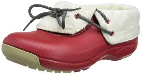 crocs Blitzen Convertible 14672-6W2, Unisex-Erwachsene Clogs & Pantoletten, Rot (Dark Red 6W2), EU