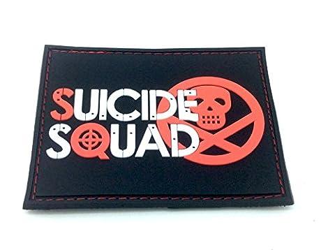 Suicide Squad PVC Klett Emblem Abzeichen