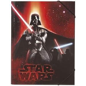 Star Wars Darth Vader–Carpeta con goma, modelo 2014–A4 4
