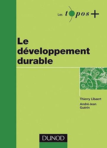 Le développement durable (Management Sup)