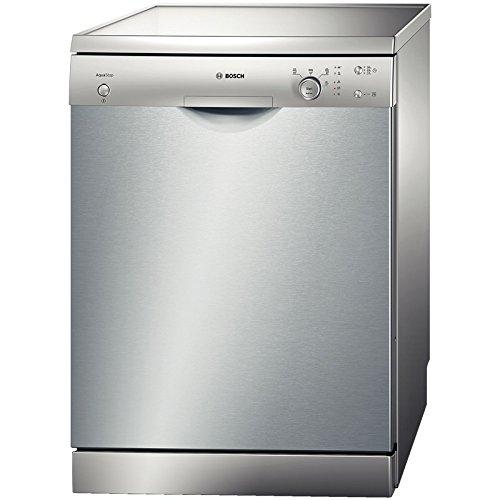 Bosch SMS40D18EU Autonome 12places A+ lave-vaisselle - Lave-vaisselles (Autonome, Acier inoxydable, froid, chaud, CE, VDE, 12 places, 50 dB)