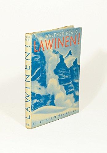 Lawinen !, Abenteuer und Erfahrung, Erlebnis und Lehre [Gebundene Ausgabe] by...