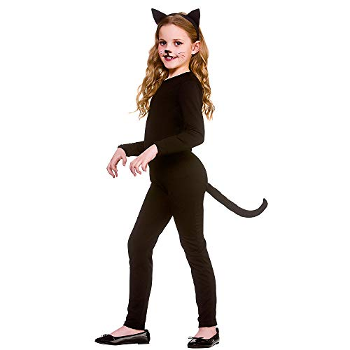 Wicked Kostüm Tragen Mich - Unbekannt Kids Black Cat Medium (5-7