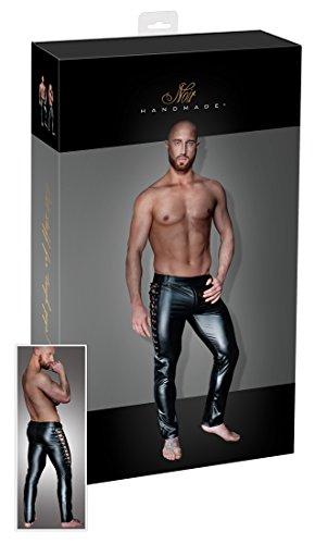Preisvergleich Produktbild Noir Handmade Sexy Dessous Herren Hose Schnürung, mittel