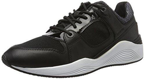 Geox D Omaya A, Sneakers Basses Femme Noir (Blackc9999)