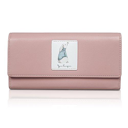 Fency ,  Damen Damen-Geldbörse rosa rose Lang Ralph Lauren Rosa Geldbörse