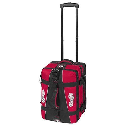 BoGi Bag Trolley Reisetasche mit Skaterrollen Check-In Koffer 48 cm, rot