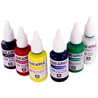 Spraycraft Conjunto de colores acrílicos para aerógrafo